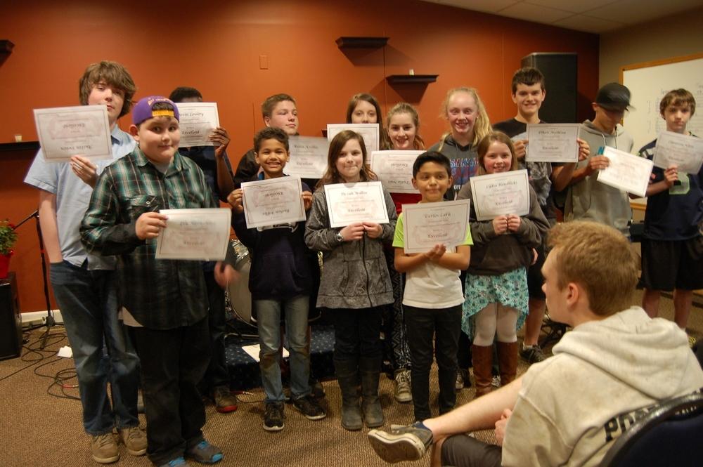 Science Fair Winners!