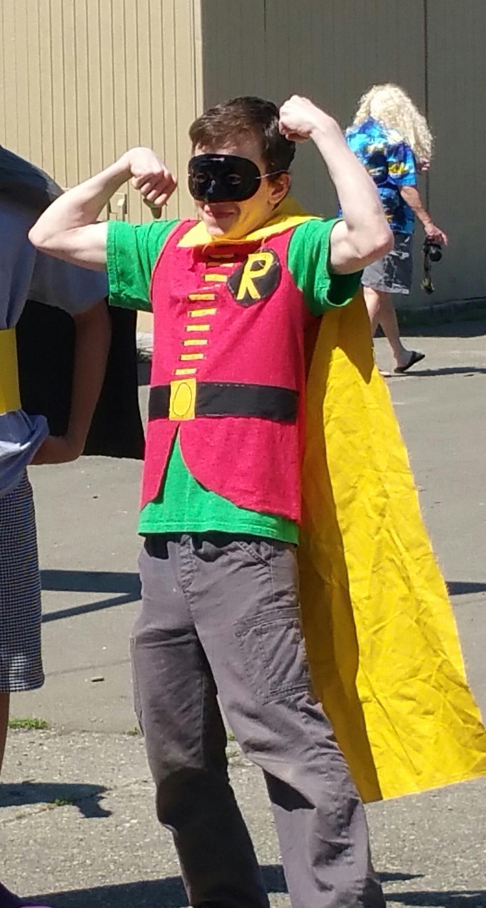Nate Hendrix - a.k.a. Robin