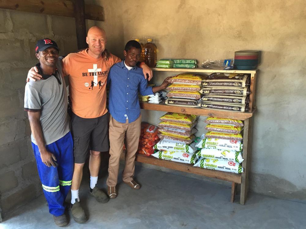 Matt Rainey at Swaziland mission