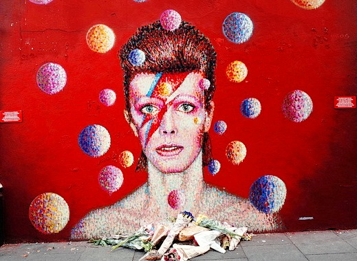 David Bowie Mural, Brixton (London)