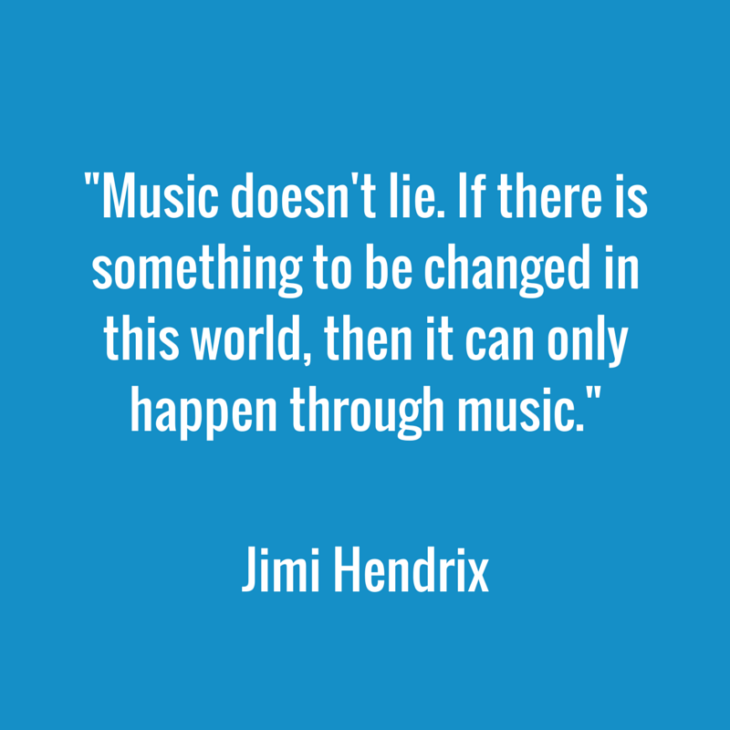 Jimi Hendrix quote