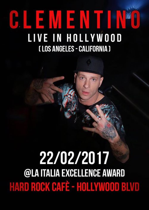 Clementino to Perform Live in Hollywood - Musical Notes Global