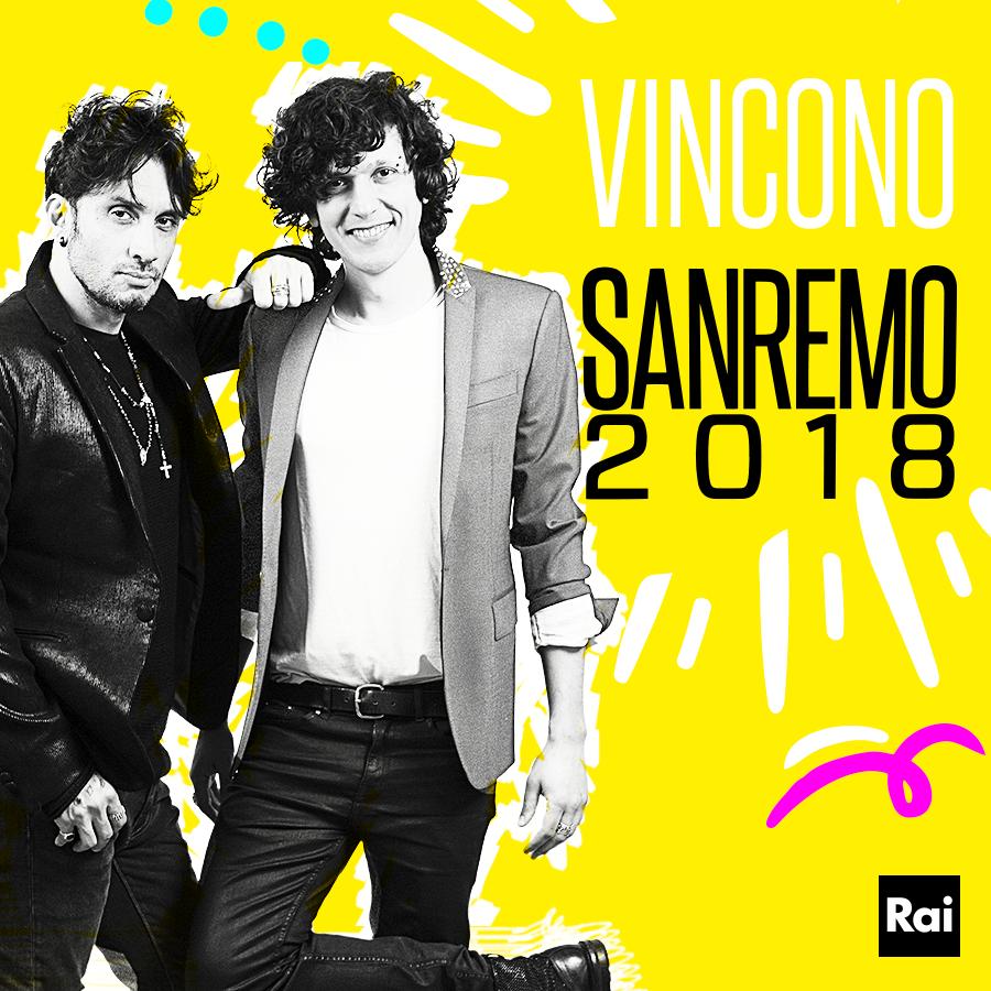 Ermal Meta & Fabrizio Moro Win Sanremo 2018 with