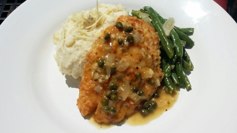 01c6f223b043 Chicken Picatta — Chef Curry To Go