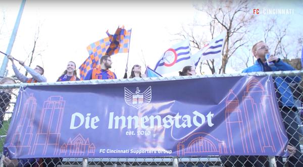 Die Innenstadt as seen in the club's  video recap .