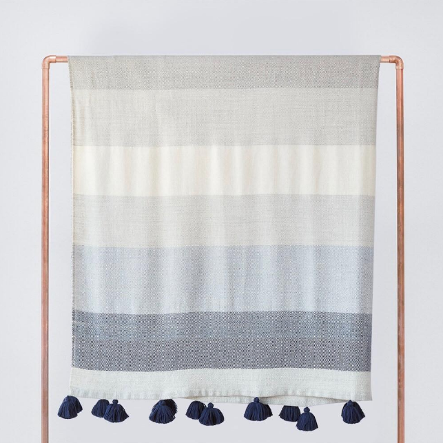 The ultimate luxury - a gorgeous, soft throw blanket by The Citizenry