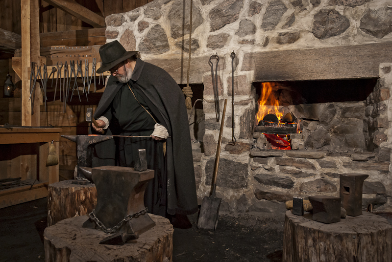 Sainte-Marie Among the Hurons Blacksmith
