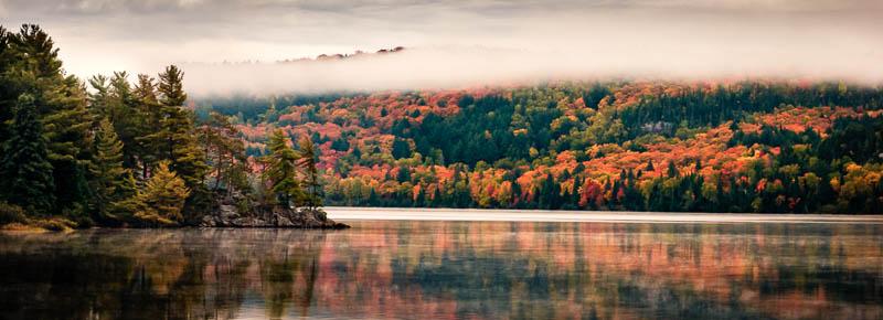 Lake of Two Rivers – Algonquin Park   Camera: Nikon D80, Lens: Nikkor 24-70 f2.8   Exposure: 1/60 sec at f11