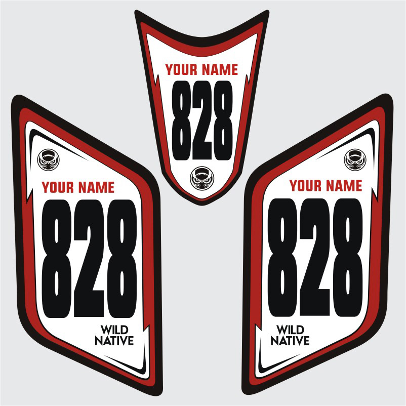 Custom Number Plates - ATV