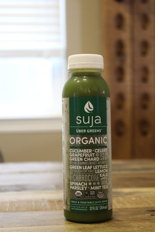 Suja's Uber Greens, 6g sugar per serving!