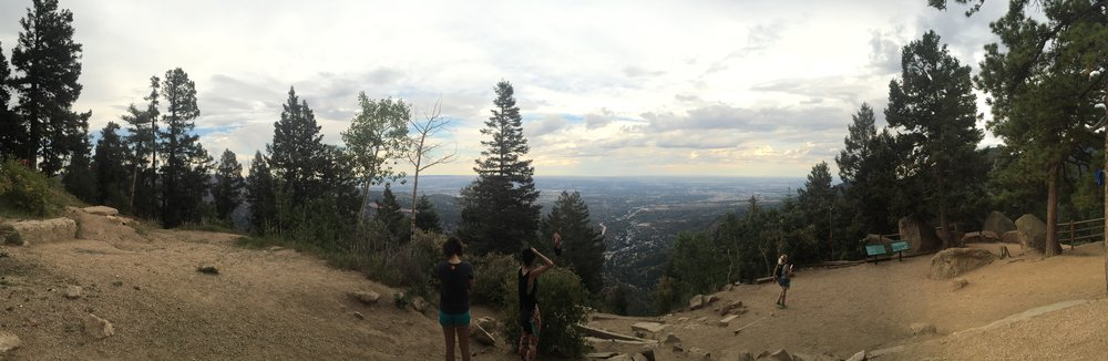 Panoramic view from the top of the Incline!