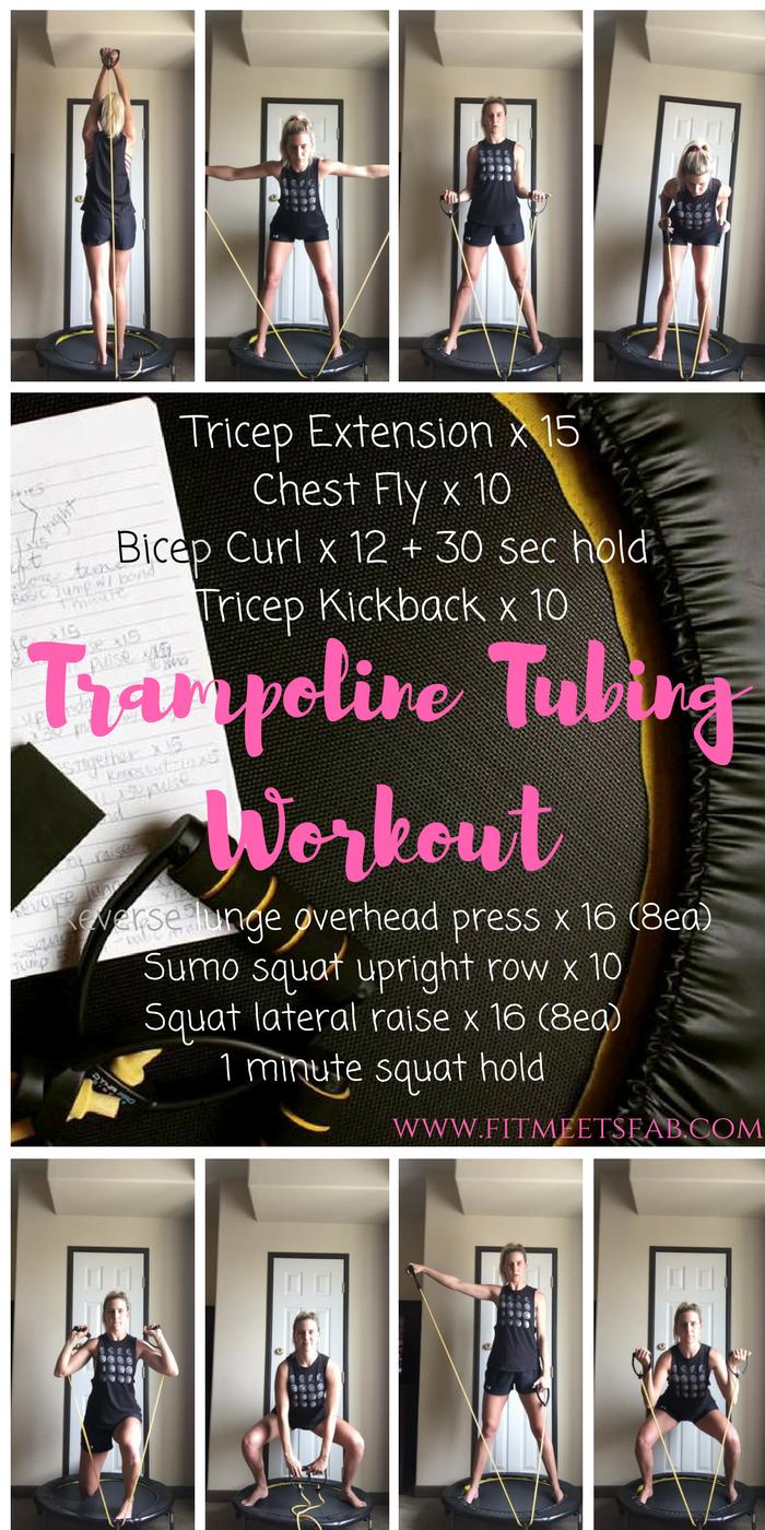 Resistance Tubing Trampoline Workout