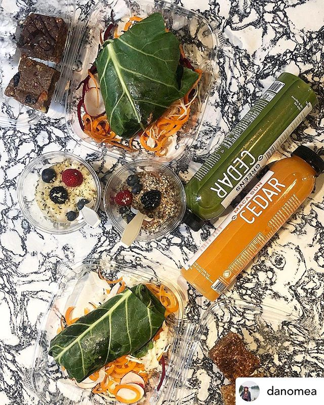 Thanks @danomea for sharing this stunning post! • What a spread! Thank you @embiria for providing the healthiest brunch I've ever had, and a relaxing yoga session😍🧘♀️