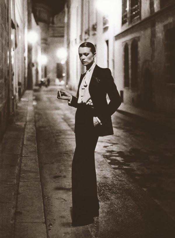 Le smoking  van Yves Saint Laurent