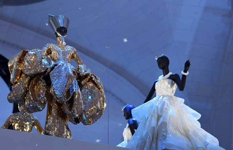 Een blik in de grote zaal van de Musée des Arts et Decoratifs.