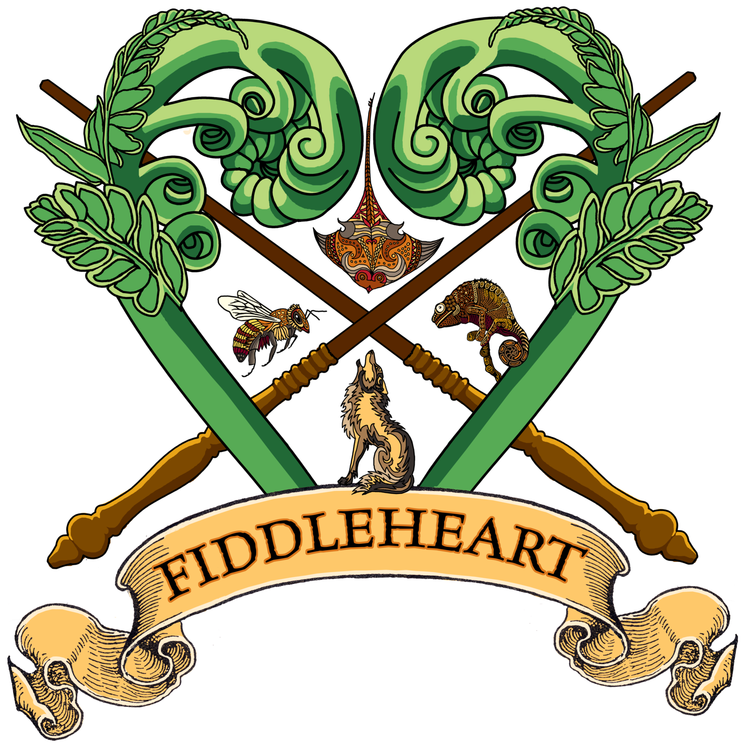 Fiddleheart