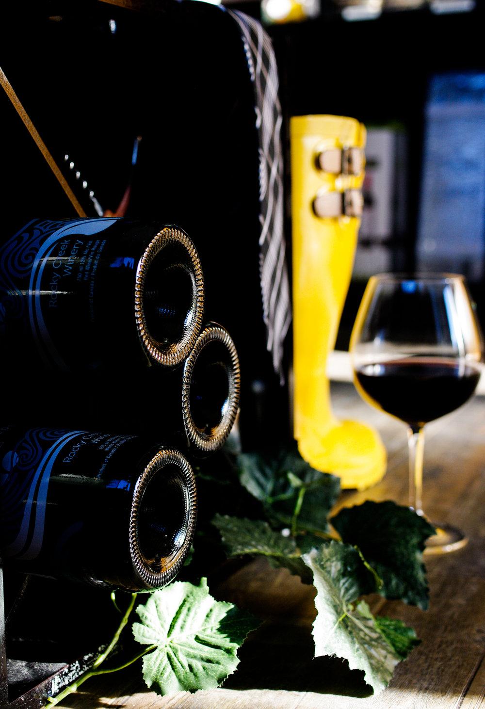 Rockycreekwinery/bottles/gumboots