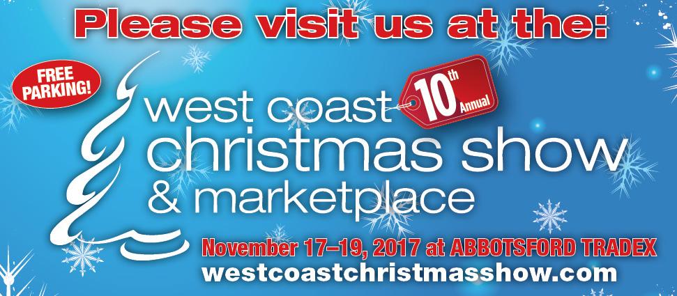 Westcoast Christmas in Abbotsford