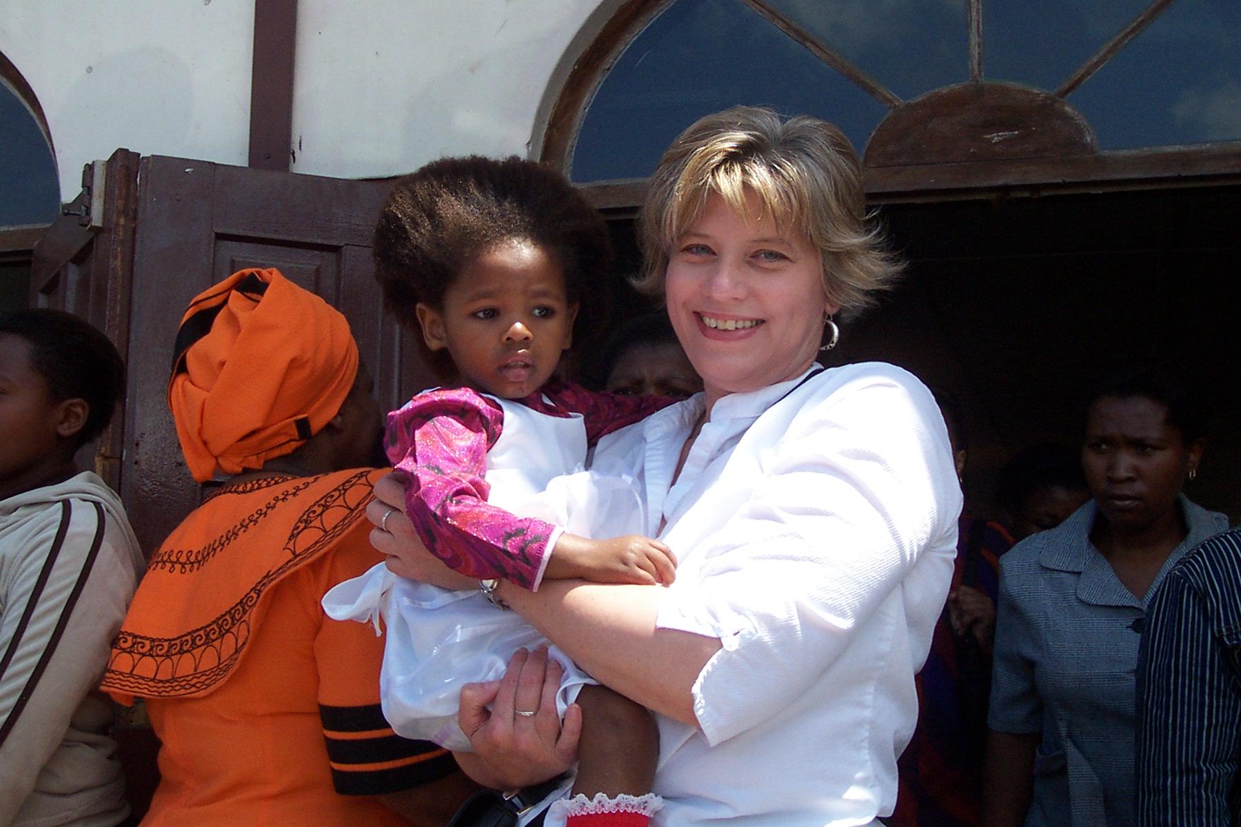 Sunday church service in Guguletu, South Africa