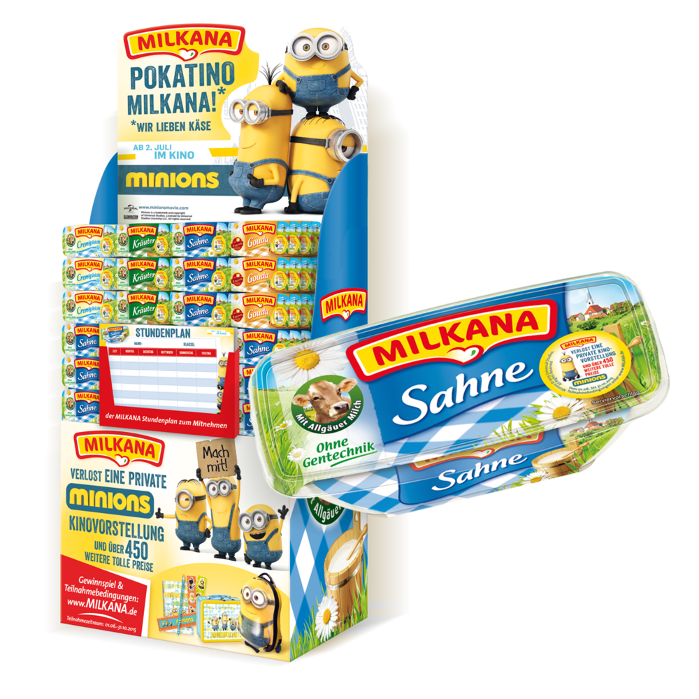 MILKANA MINIONS PROMOTION AM POS