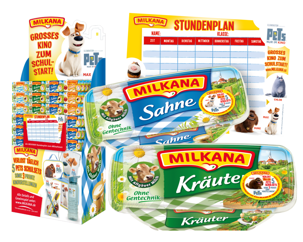 MILKANA PETS PROMOTION AM POS