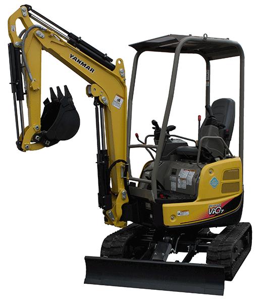 Yanmar Vio17 Compact Mini Excavator