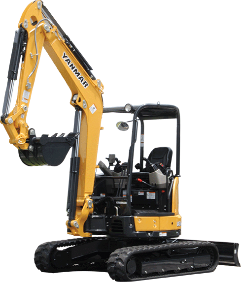 Yanmar ViO35-6A Compact Mini Excavator