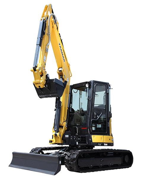 Yanmar ViO55-6A Compact Mini Excavator