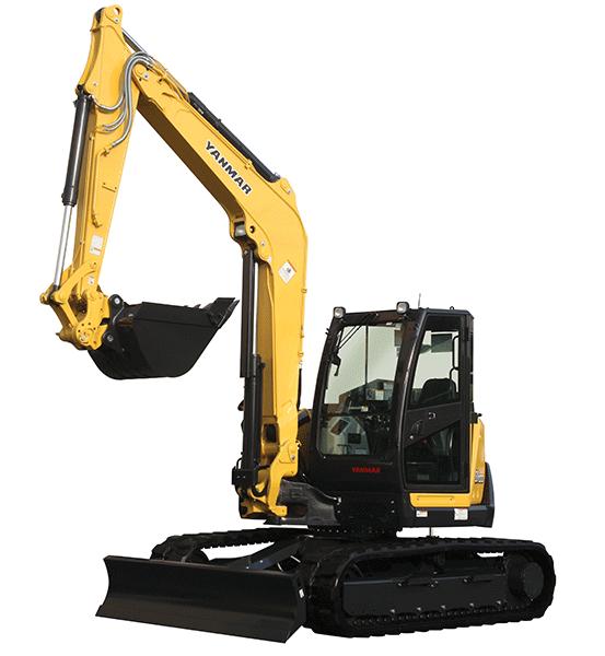 Yanmar SV100-2A Excavator