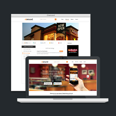 Olaround Responsive Website