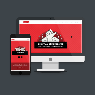 Bramerz Responsive Website