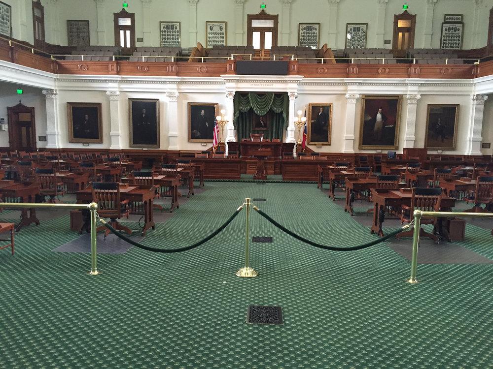 Texas Senate Custom Installation