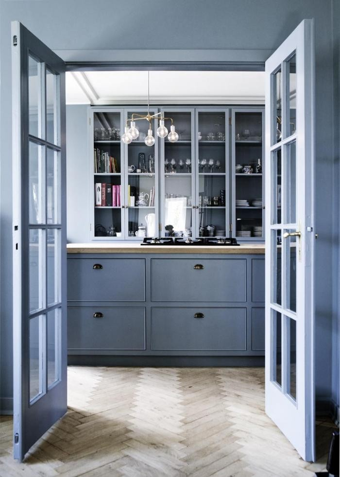 A Copenhagen kitchen designed by Kobenhavns Mobelsnedkeri | Photo by Line Klein via Remodelista