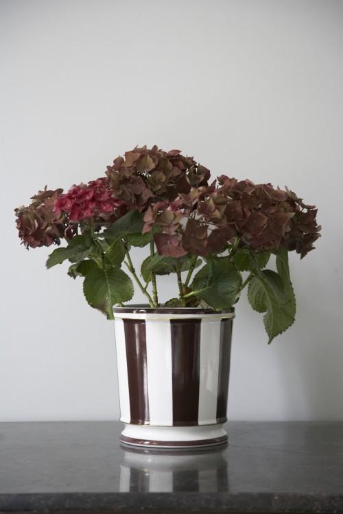 Limoges Flowerpot Marie Daages