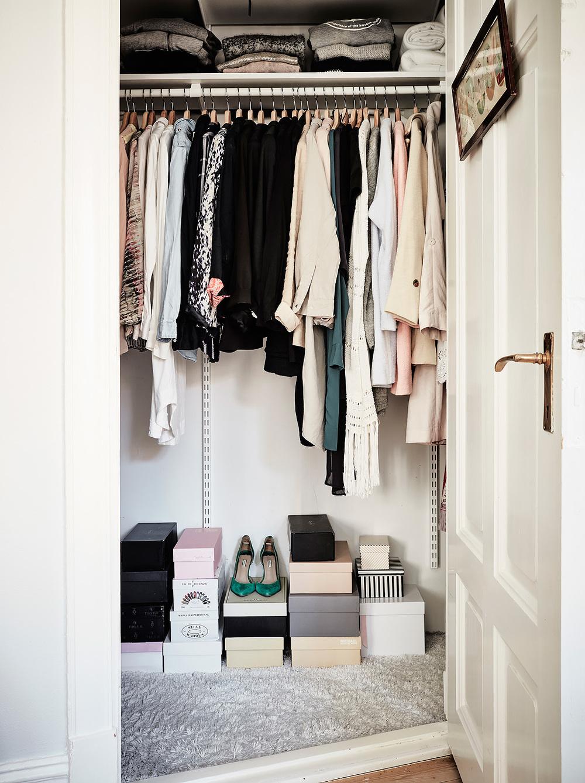 Stylish closet