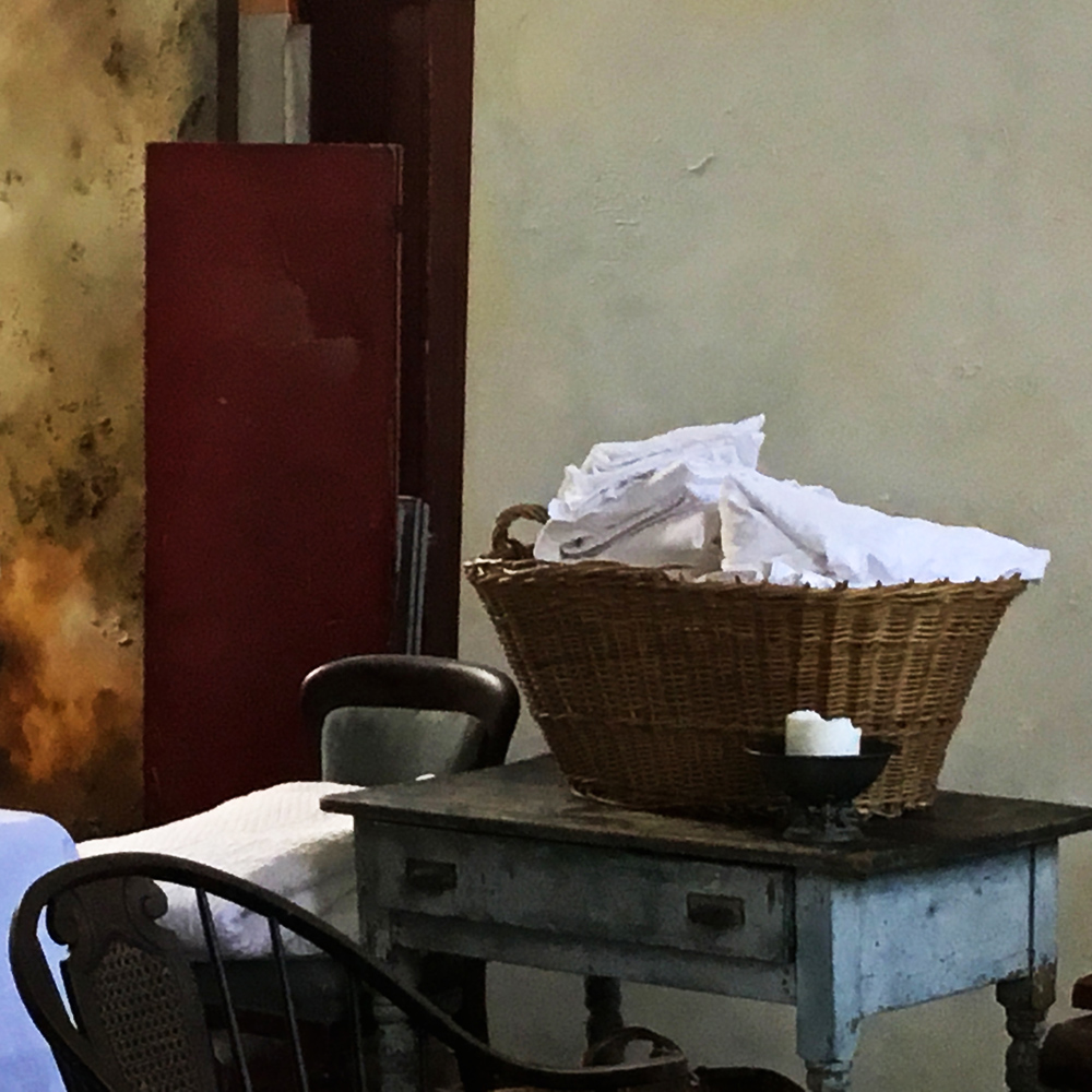 """Telltales: Basket of sheets"""