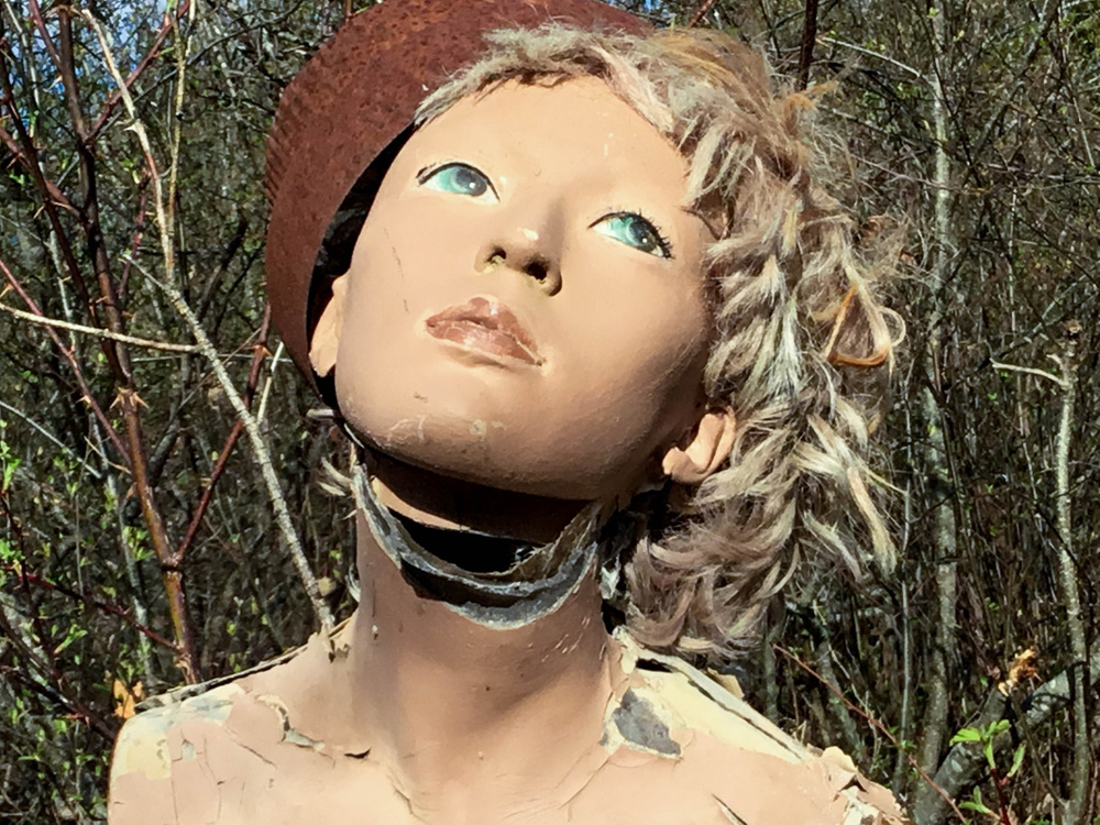 """""""Mannequin Series: Girl, weathered the storms"""""""
