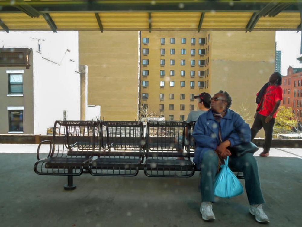 """""""Manhattan Canvas: Northbound to Poughkeepsie"""""""