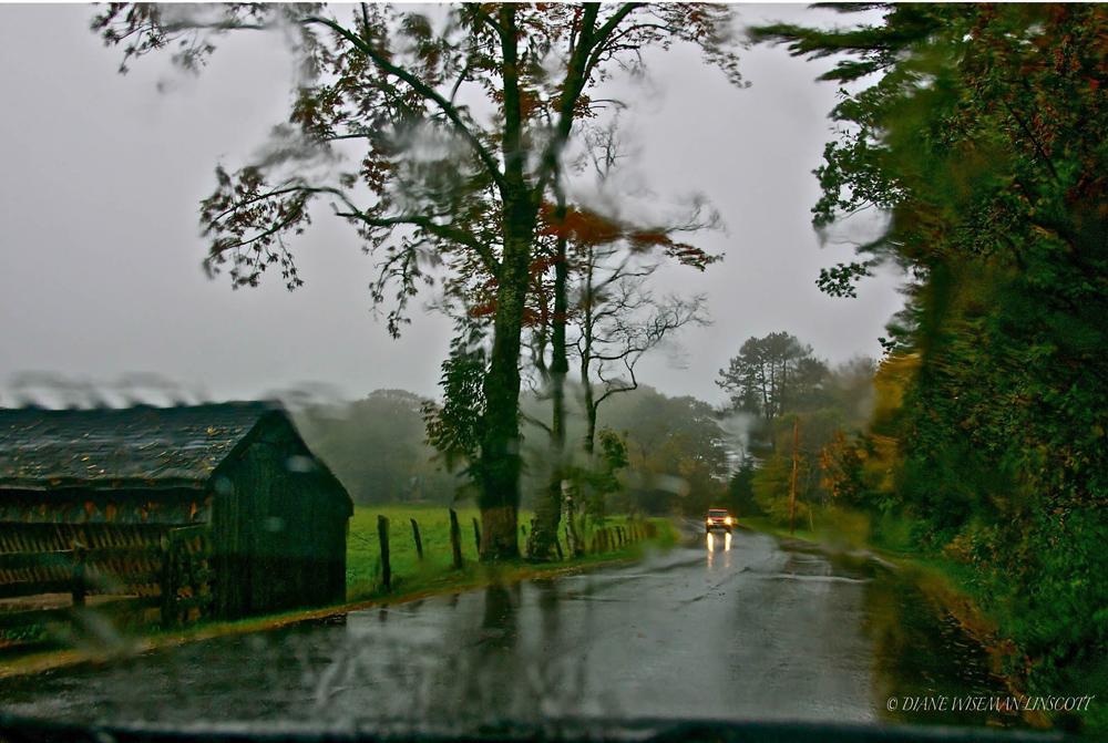 """Rainy Days Canvas: Backway to Rockport"""