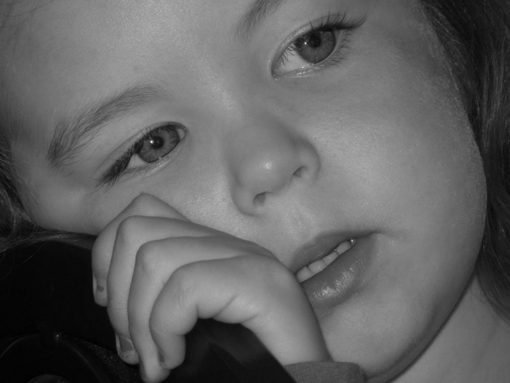 """Candid Children: Daydreaming"""