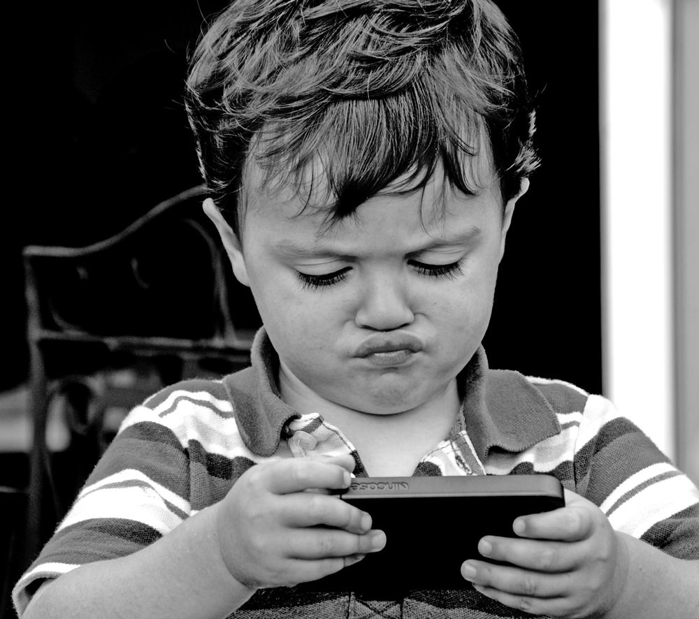"""""""Candid Children: Texting"""""""