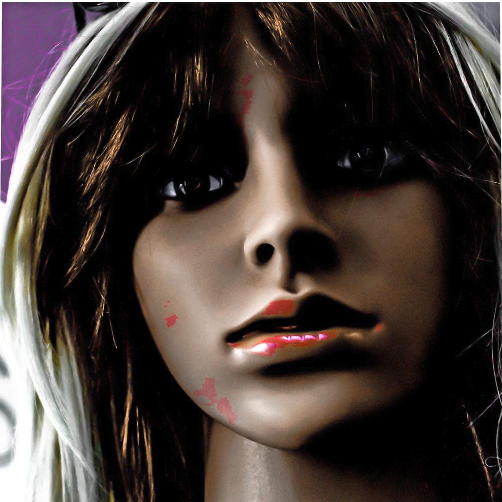 """Mannequin Series: Smeared cheek"""