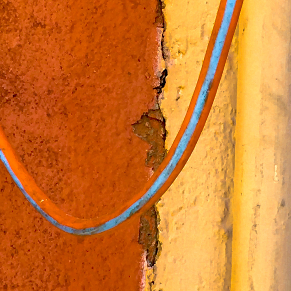 "Street Abstracts: ""Orange,Yellow,Blue""- SRD"