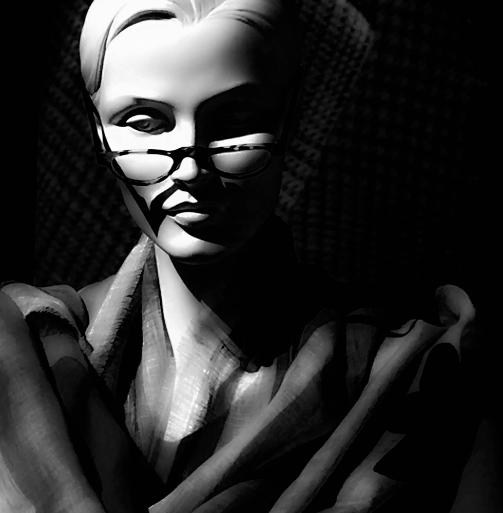 "Mannequins: Glasses 41717"""