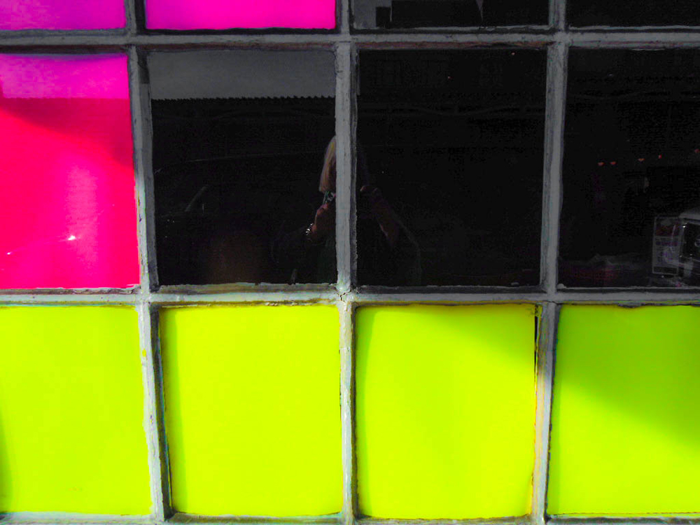 "Street Abstracts:  ""Colored Panes"" - C"