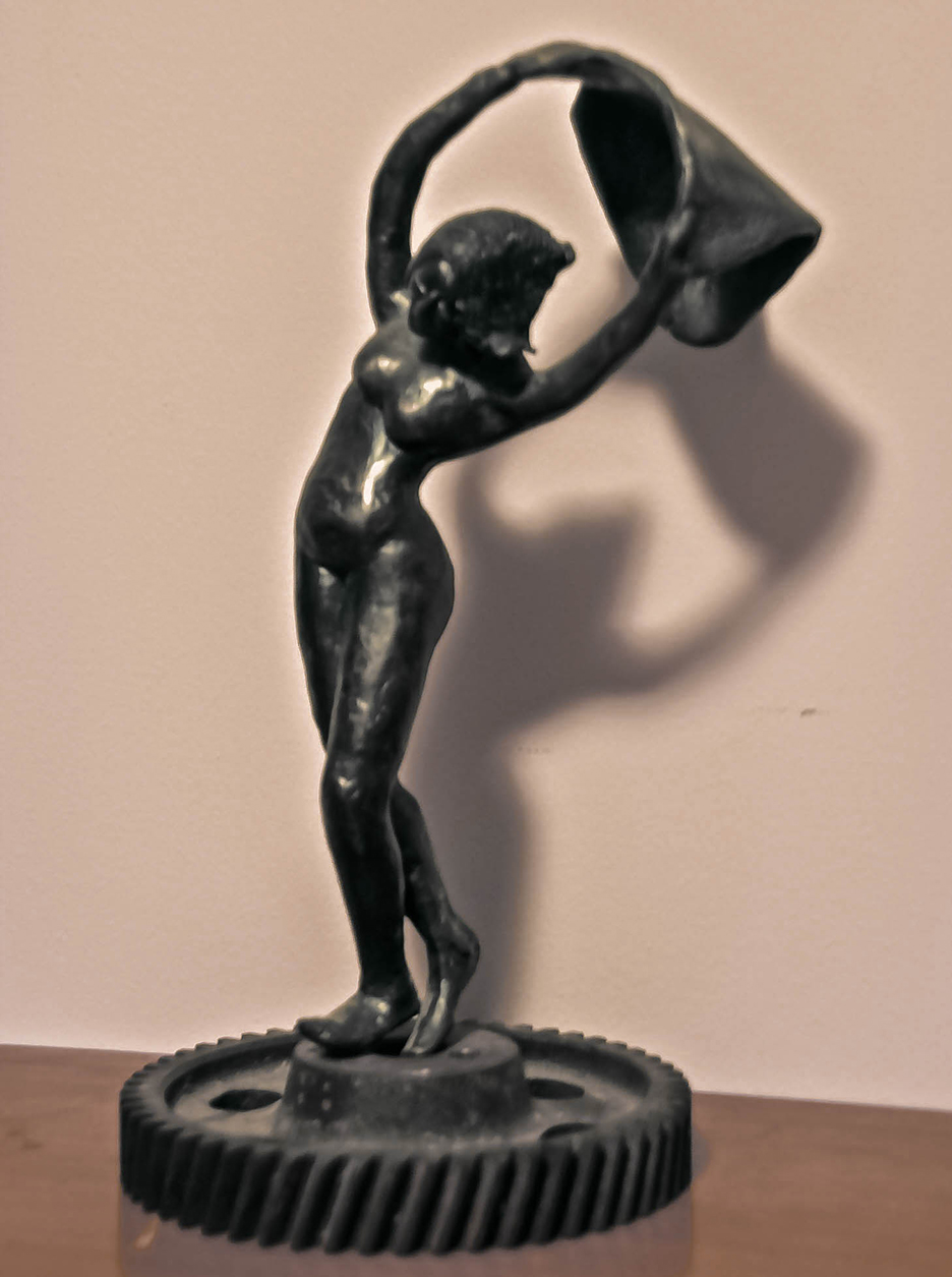 """Seize The Day"", bronze"