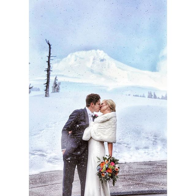 To this beautiful couple - we were so honored to be a part of this special day, to celebrate the power of love and to hold space for everything that led to this moment. ❤️ • • #timberlinewedding #2019wedding #whitewedding #springinoregon #mrandmrs #weddingportraits #blizzard #snowywedding #brideandgroom #ido #lossfamily #stillstanding #familyoffour #bride #groom #weddingphotography #mthood #oregonweddings #lindelofphotography #LPcouples