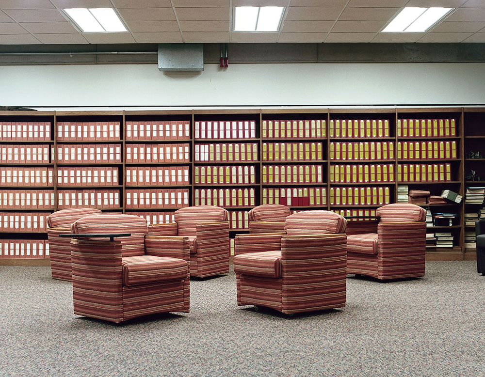 "Quite Study Room, Library, 2011 | ""Recollection"", 2010-2011"
