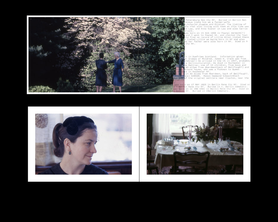 Student Samples 2009- Present | Photobook Dummy (2 page excerpt w/text).