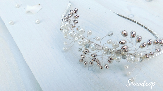 Snowdrop, the only tiara in the collection